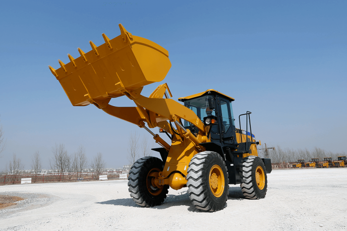 sem wheel loader 636d front view