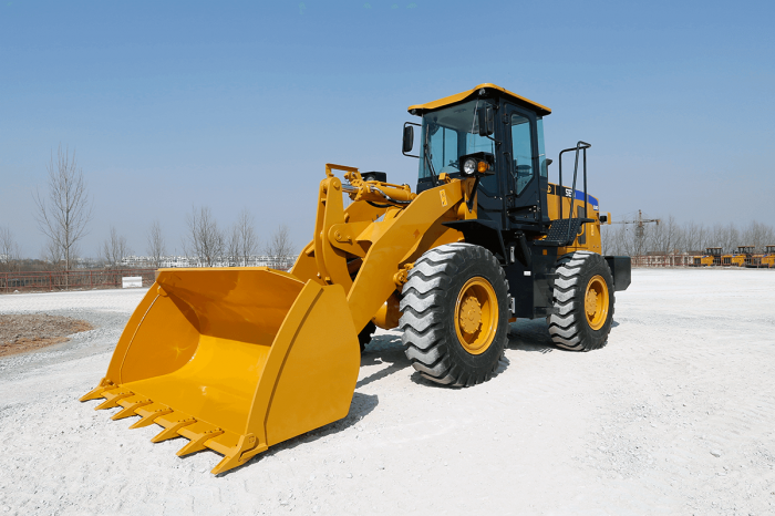 sem wheel loader 636D